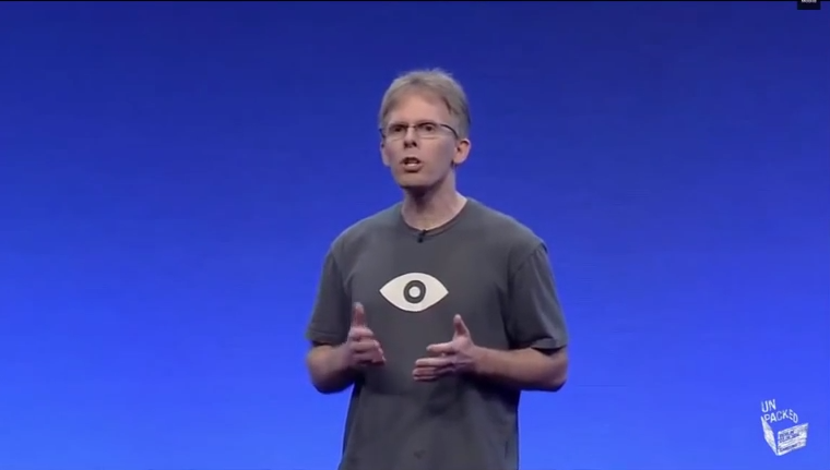 John Carmack speaks about Samsung's Gear VR and the power of Oculus