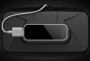 Leap Motion for Oculus VR let's you track your hand movements in realtime